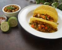 Spicy Chickpea Tacos Recipe With Indian Twist