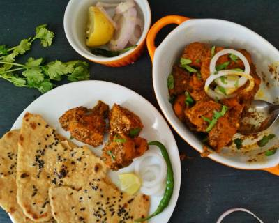 Tandoori Style Soya Chaap Curry Recipe