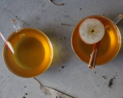 Spiced Mulled Apple Juice Recipe