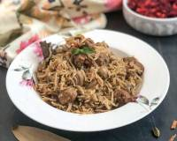 Pudina Mushroom And Soya Biryani Recipe