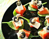 Watermelon & Feta Skewers Recipe