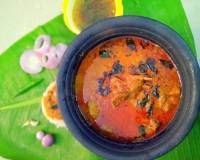 Attirachi Kuzhambu Recipe - Spicy Mutton Gravy