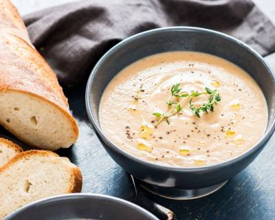 Spiced Cauliflower And Almond Soup Recipe