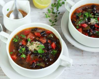 Black Bean Soup With Mojo Recipe
