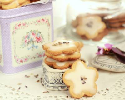 Lemon Lavender Cookies Recipe