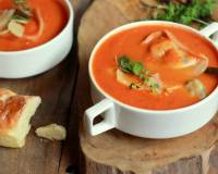 Roasted Tomato & Tortellini Soup Recipe