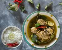 Lebu Lonka Murgi Recipe - Chicken With Gondhoraj Lebu & Green Chillies
