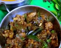 Andhra Pepper Chicken Recipe