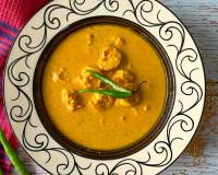 Doi Shorshe Chingri - Prawn Mustard Curry Recipe