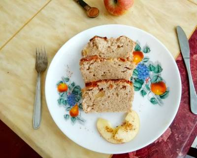 Buckwheat Apple Cinnamon Loaf Cake Recipe