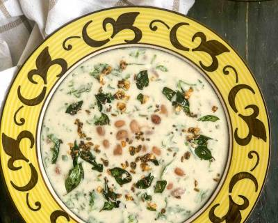 Boiled Peanut Raita Recipe