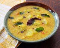 Chow Chow Thakkali Kootu Recipe - Chayote Squash In Dal Coconut Curry