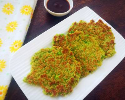 Cottage Cheese And Peas Oatmeal Pancakes Recipe