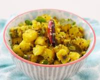 Goan Raw Banana Sabzi Recipe