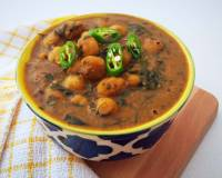 Kasuri Methi Chole Recipe