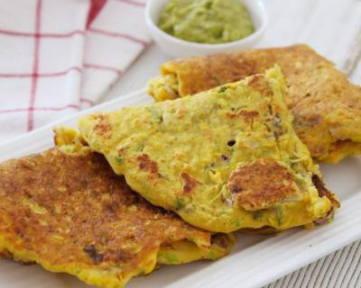 Makai Ka Cheela Recipe - Delicious Corn Cheela Recipe