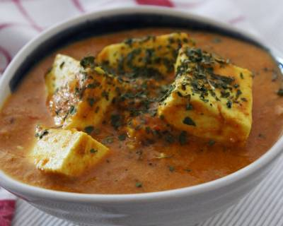 Paneer Peshawari Recipe - Cottage Cheese In Rich Gravy