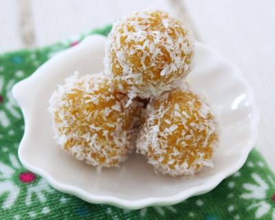 Pumpkin Coconut Ladoo Recipe