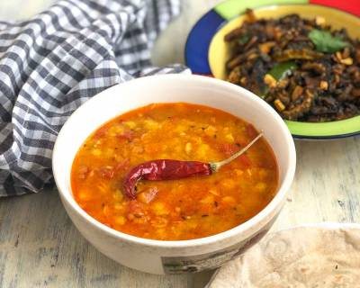 Sindhi Toor Dal Recipe With Aam Papad - Aam Papad Dal Recipe