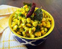 Sweet Corn Poriyal Recipe