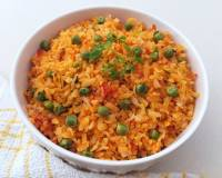 Tomato Poha With Peas Recipe