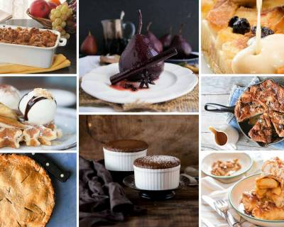 17 Indulgent Warm Dessert Recipes For Winter / Monsoon Parties