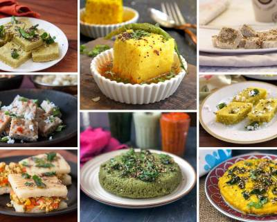 24 Delicious & Healthy Dhokla Recipes For An Evening Tea Snack