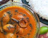 Karwar Style Ambade Udid Methi Recipe - Hog Plum Curry