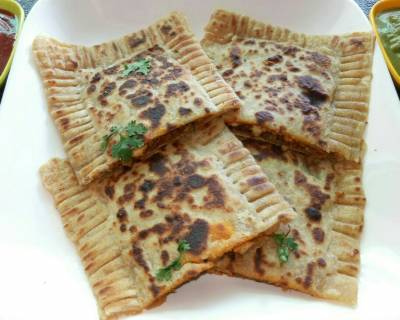 Paneer Broccoli Soya Ghee Roast Pockets Recipe