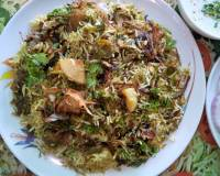 Hyderabad Soy Biryani Recipe With Vegetables & Palak