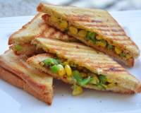 Corn And Capsicum Sandwich Recipe