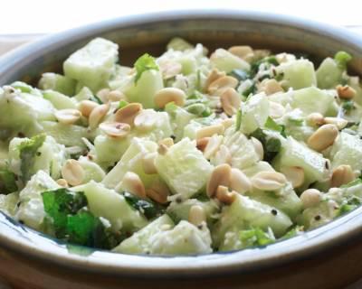 Maharashtrian recipes marathi recipes by archanas kitchen khamang kakdi recipe maharashtrian cucumber salad forumfinder Images