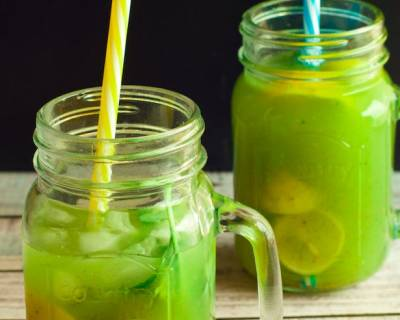 Kiwi Basil Lemonade Recipe
