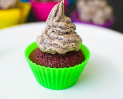 Beetroot Cupcakes Recipe With Oreo Frosting