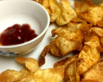 Crispy Crab Rangoons Recipe