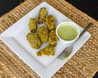 पैन फ्राइड एवोकाडो कोफ्ता - Pan Fried Avocado Kofta (Recipe In Hindi)
