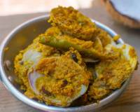 Tisrayanche Suke Recipe (Goan Clams Dry)