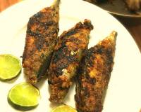 Goan Style Recheado Bangdo Recipe | Stuffed Mackerel