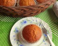 Eggless Carrot Muffins Recipe