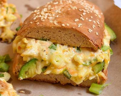 Chicken And Cheese Sandwich With Avocado Recipe