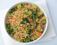Kale And Vegetable Fried Quinoa Recipe
