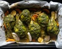 Coriander Garlic Baked Chicken Recipe
