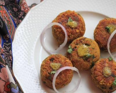 Chana Dal Aloo Cutlet Recipe - Gram Dal Potato Cutlet Recipe
