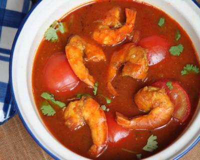 Chettinad Prawn Curry Recipe