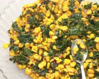 Corn And Drumstick Leaves Salad Recipe