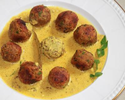 Rajma Kofta In Milk And Poppy Seed Gravy Recipe