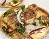 South Indian Grilled Fish With Spicy Fusion Sauce Recipe