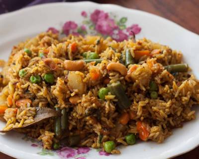 Chettinad Vegetable Biryani Recipe