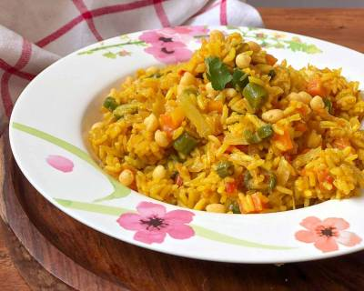 One Pot Masala Vegetable Rice Recipe