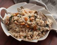 Thengai Paal Sadam Recipe - Coconut Milk Pulao